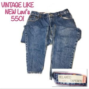 • LEVI'S | LIKE NEW VTG | 550 Relaxed Jeans •